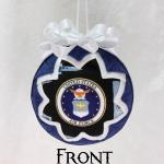 Military Air Force Ornament