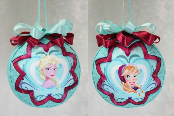 Frozen 1 Anna and Elsa Ornament