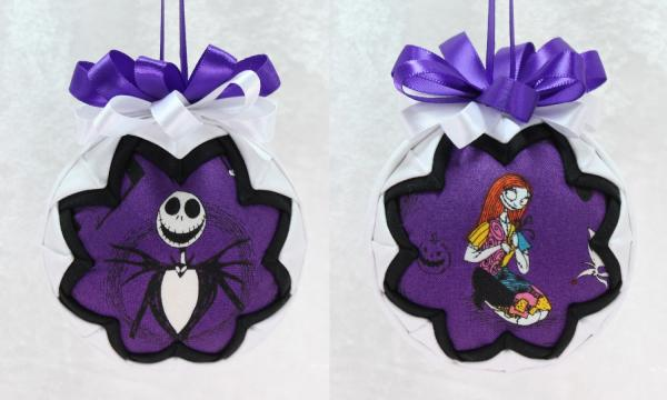 Nightmare Before Christmas Purple Ornament