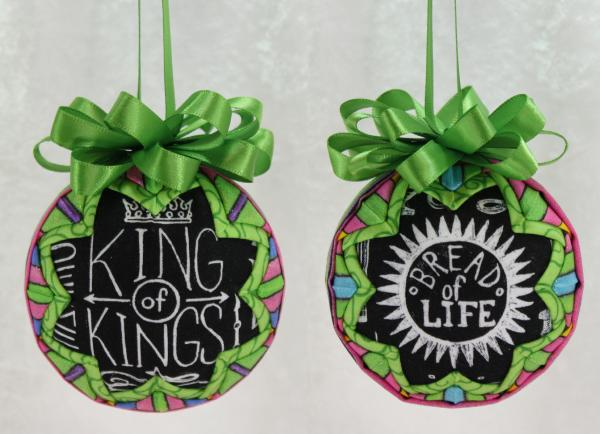 Names of God Chalkboard Style Ornament