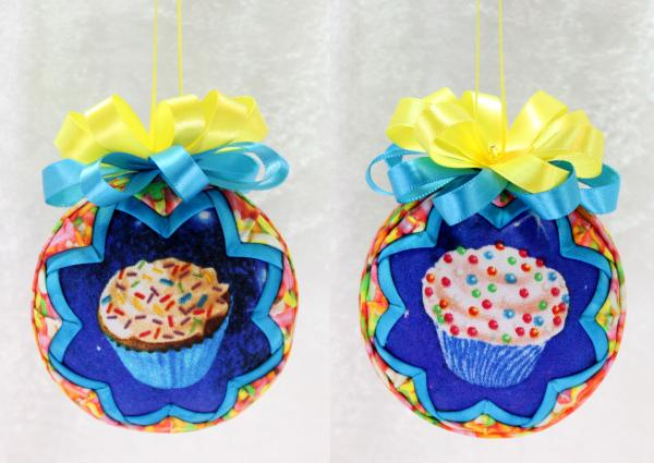 Bakery Cupcake or Donut Ornament