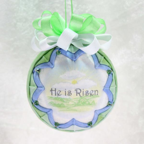He Is Risen Easter Ornament