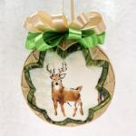 Woodland Wildlife Animals Ornament