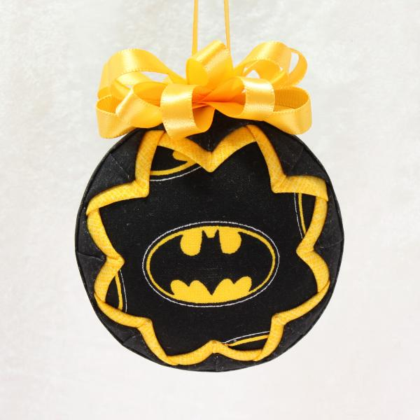 Bat-Man Logo Ornament