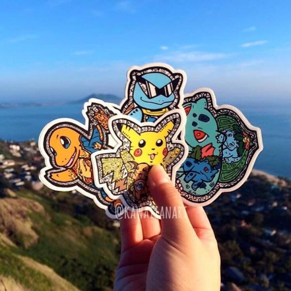 Pokemon Vinyl Sticker Pack