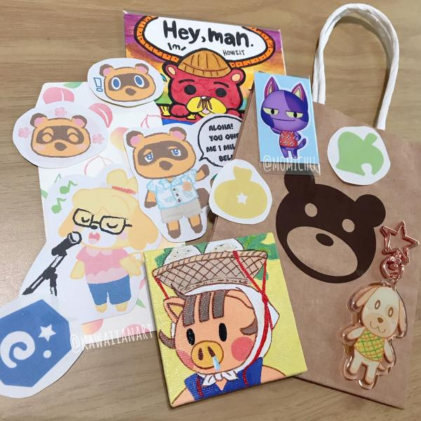 Animal Crossing Mystery Bag