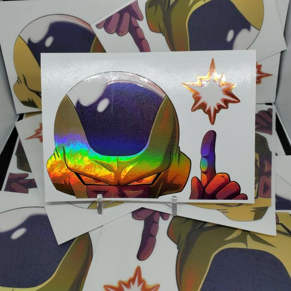 Gold Freeza (Holographic) picture