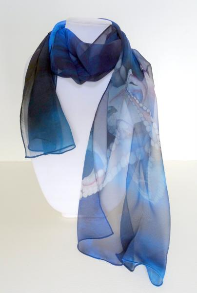 Oh, Hello! Octopus Sheer Silk Scarf