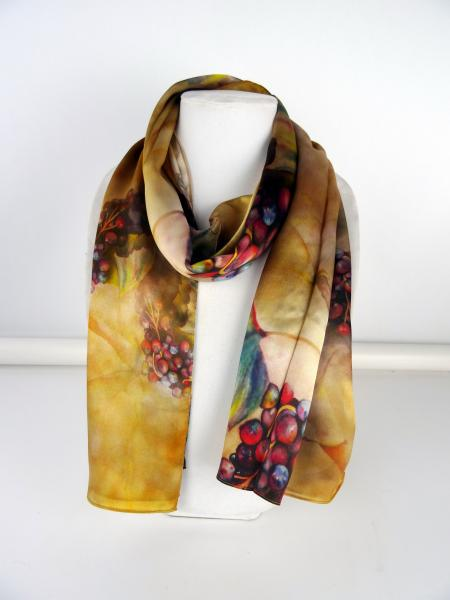 At the Villa Silk Scarf