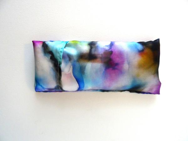 Aromatherapy Eye Pillow Self-Care w/Silk Case - Petals on the River picture