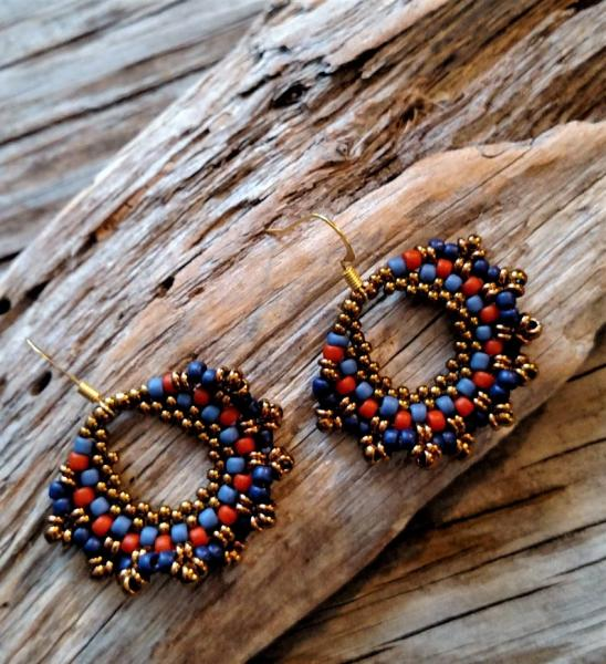 Hand Woven Earrings
