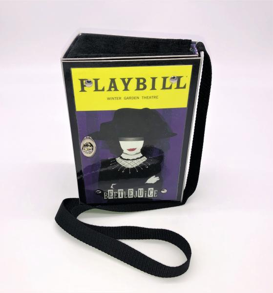 BEETLEJUICE BROADWAY PLAYBILL PURSE