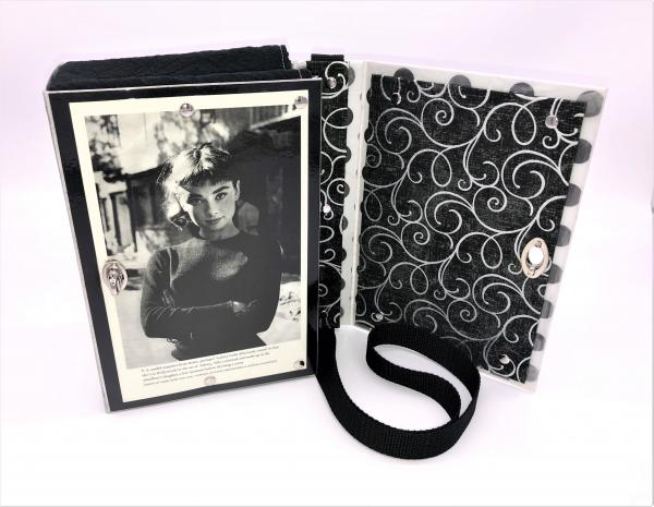 AUDREY HEPBURN BOOK COVER PURSE picture