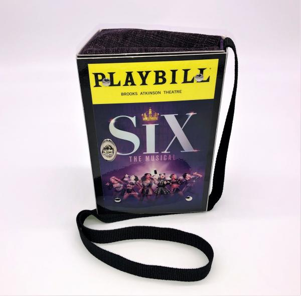 SIX BROADWAY PLAYBILL PURSE