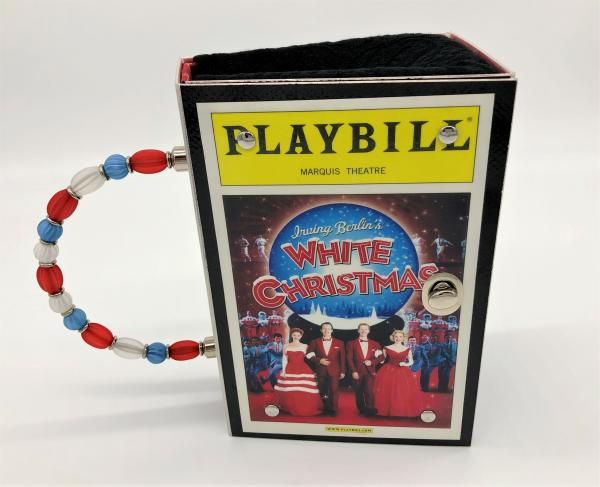 WHITE CHRISTMAS BROADWAY PLAYBILL PURSE