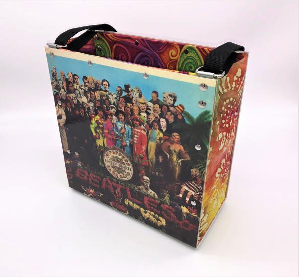 BEATLES SGT. PEPPERS LONELY HEARTS CLUB BAND ALBUM COVER TOTE