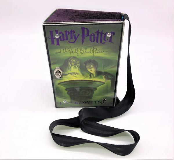HARRY POTTER BOOK COVER PURSE