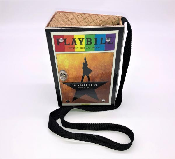 HAMILTON BROADWAY PLAYBILL PURSE (original cast)