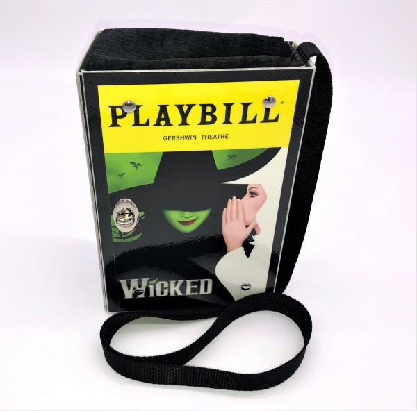 WICKED BROADWAY PLAYBILL PURSE picture