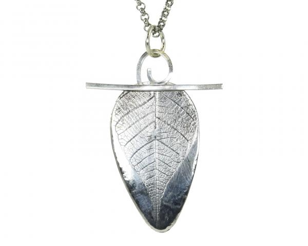 PD.20 Leaf Texture w/ Swirl on Top Pendant