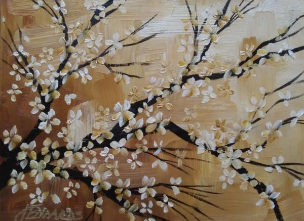 Blossoms on Ochre