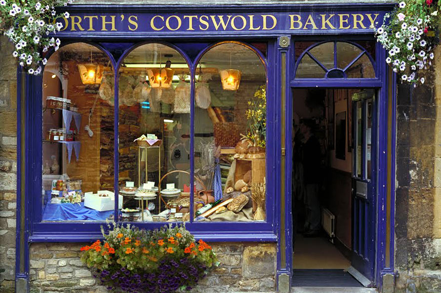 North's Cotswold Bakery - P 48 - 11X14 matted 16X20