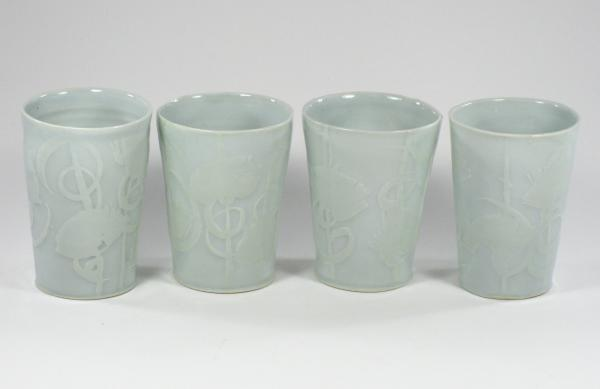 Water etched Tumblers