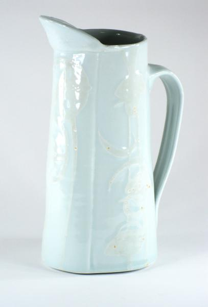 Water Etched Pitcher