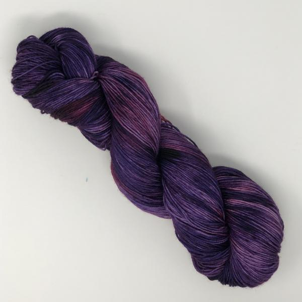 Flying Purple People Eater on Smooth Sock