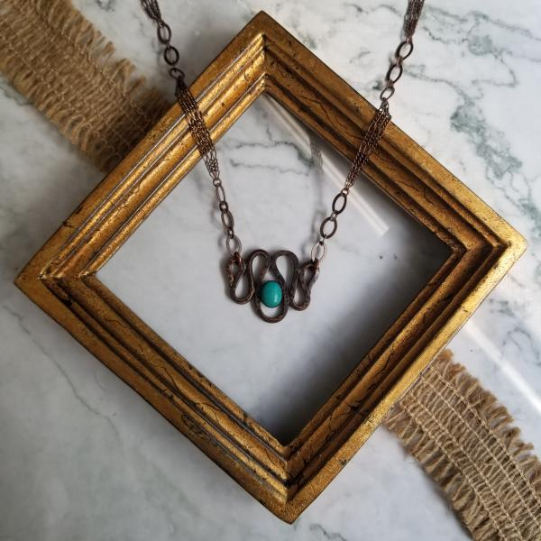 """The Tawny"" Copper Patina Necklace"