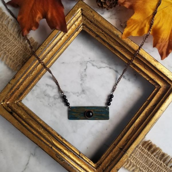 """The Current"" Copper Patina Necklace"