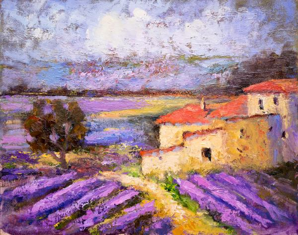 Farm House in the midst of Lavenders II