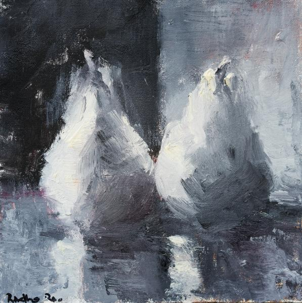 Black & White Pears