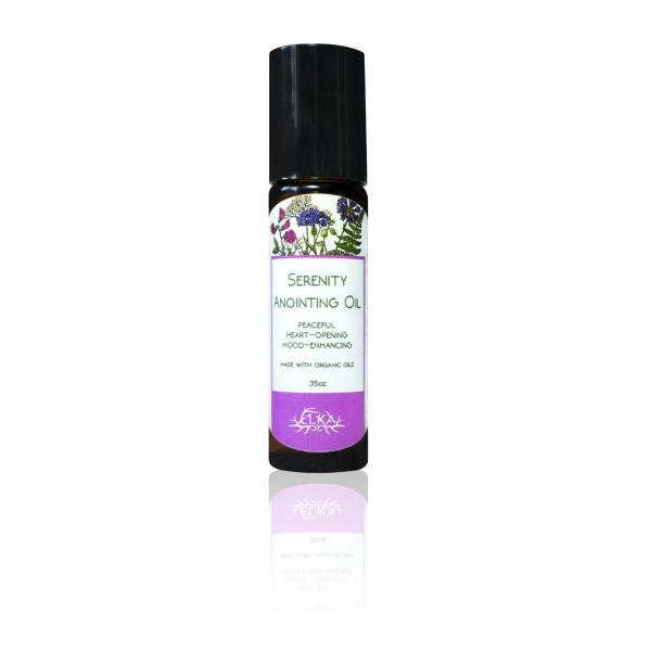 Serenity Anointing Oil, Lavender-Chamomile-Patchouli Roll-On Essential Oil Blend