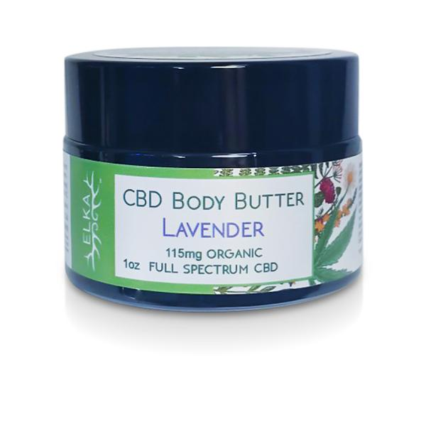 CBD Body Butter with Lavender Essential Oil Blend