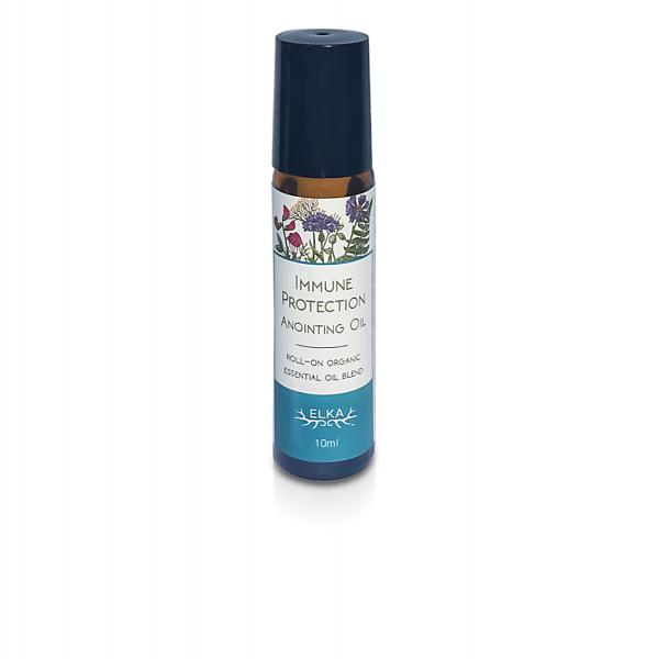 Immune Protection Anointing Oil, Roll-On Essential Oil Blend