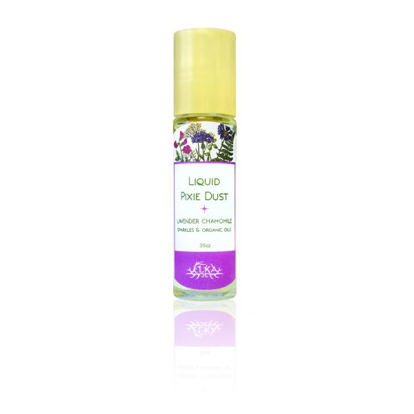 Serenity Liquid Pixie Dust - Roll-On Sparkles with Lavender-Chamomile Essential Oil Blend