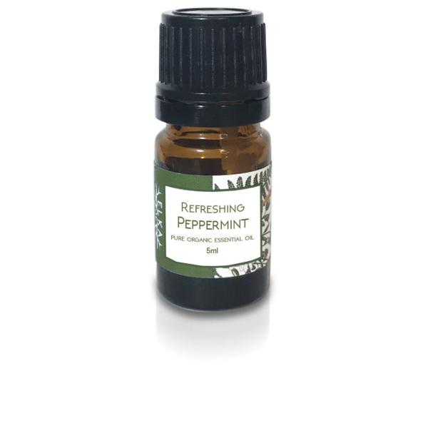 Refreshing Peppermint Pure Organic Essential Oil