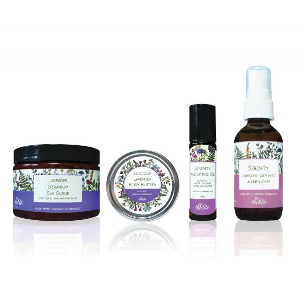 Elka Herbals Lavender Gift Set ($87 Value)