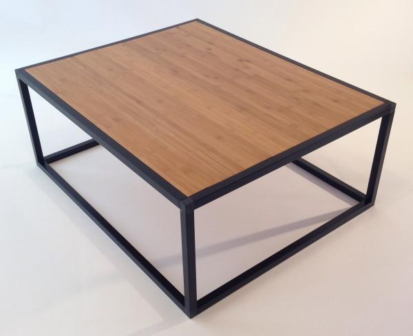 Coffee Table with Light Bamboo