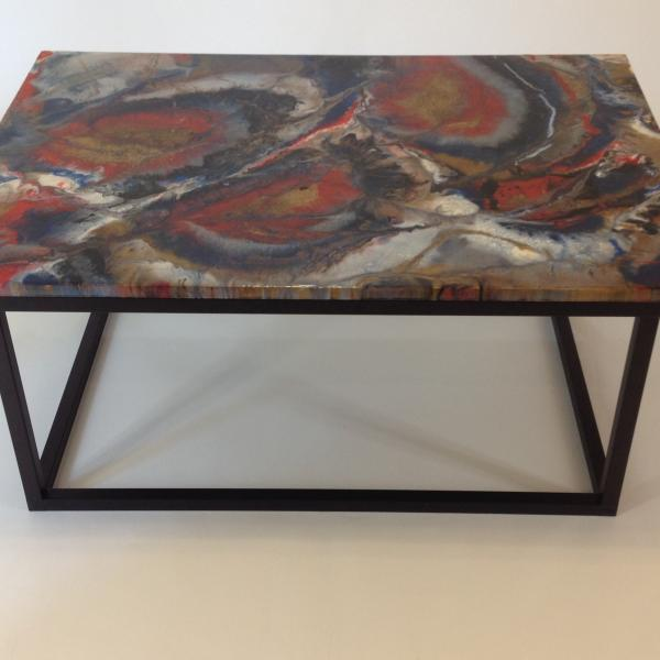 Explosion of Color Coffee Table