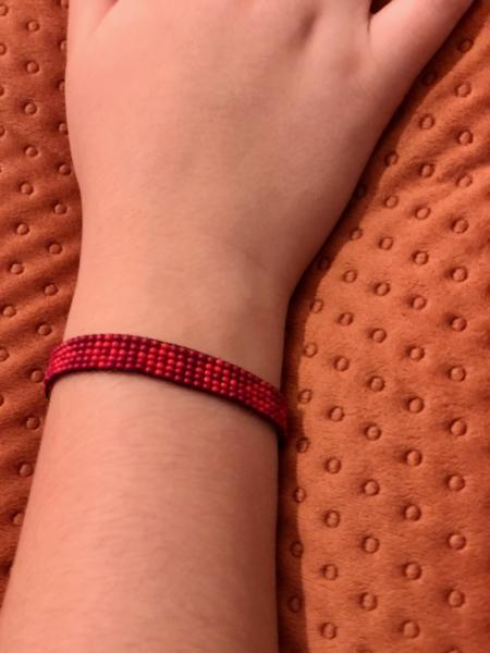 Chaquiral Bracelets - Red