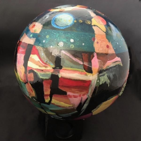 "Abstract Cosmos 10"" Sphere"