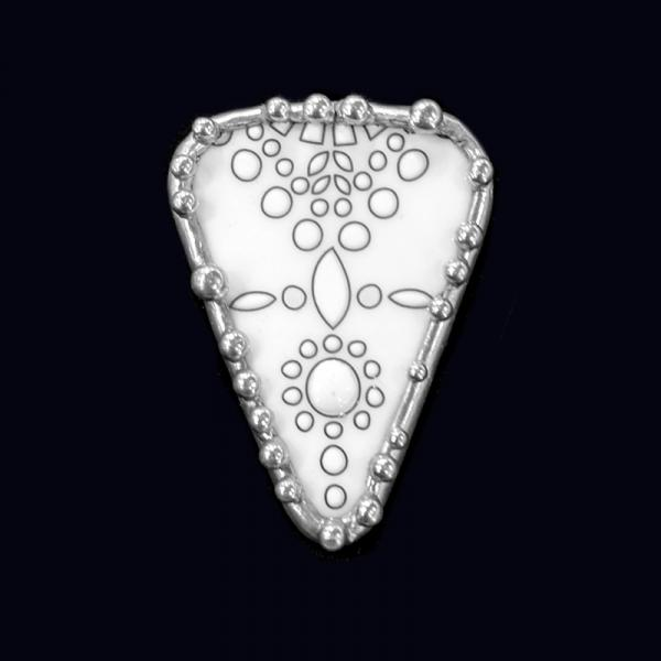 Lenox Plate Shard Pin/Pendant picture