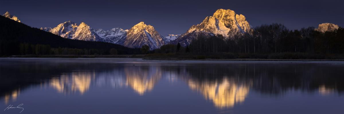 Sunkissed_Oxbow Bend, Grand Teton National Park