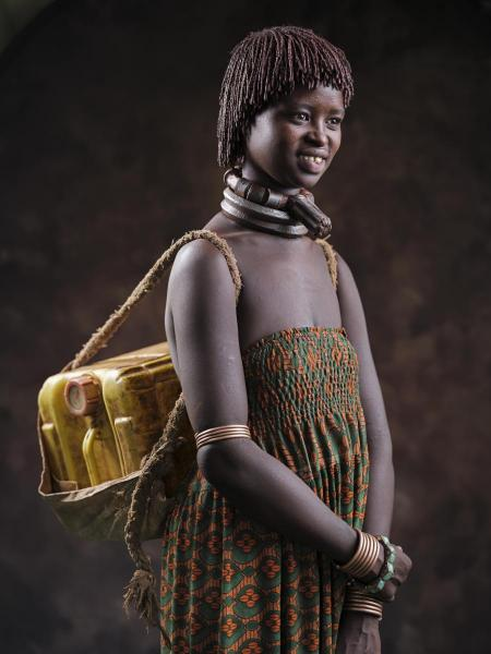 Water Carrier-Omo Valley, Ethiopia