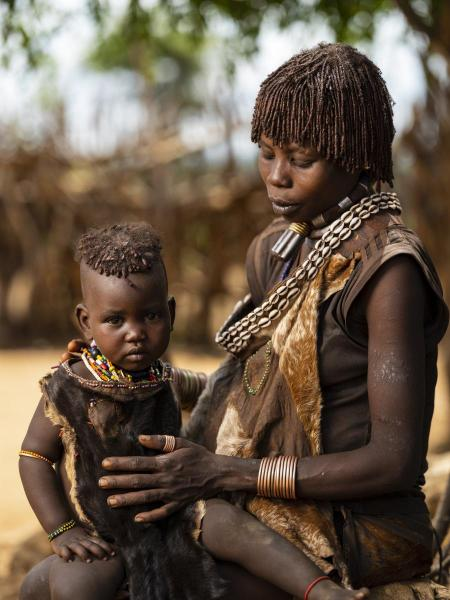 Mother and Child_Omo Valley, Ethiopia