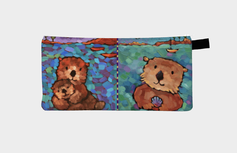 """Otterly Yours"" pencil case"