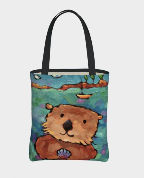 """You Otter be Here"" tote bag"