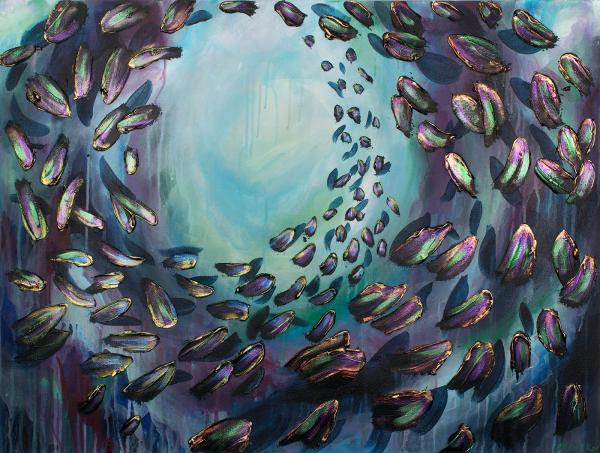 School of Fish 30x40""